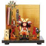 「五月人形・大将飾り」人気の真多呂人形の飾りたくなる武者人形