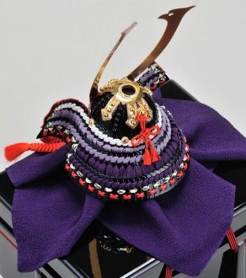 「コンパクトな五月人形」加藤一冑のミニ兜は、飾りやすく人気です!