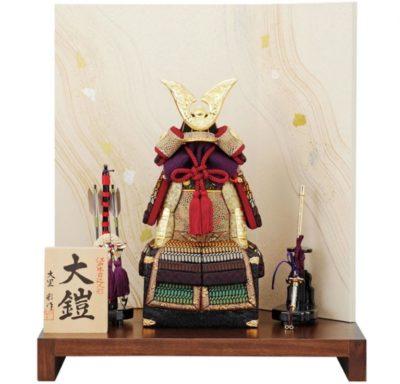 木目込みの五月人形・鎧飾り