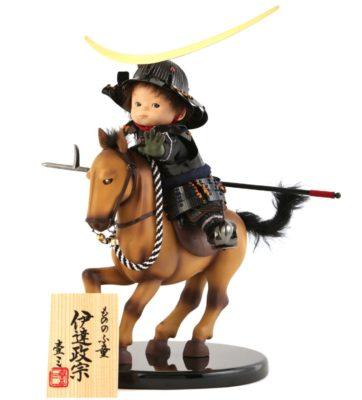 壱三作の五月人形・子ども大将飾り、もののふ童シリーズがかわいすぎ!