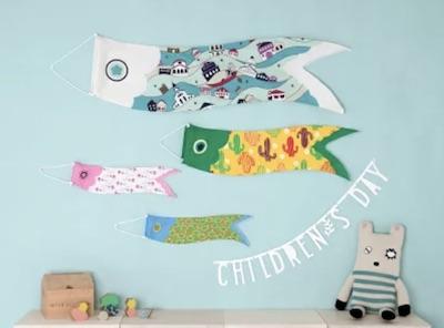 おしゃれなこいのぼりを飾りたい!室内用の人気の鯉のぼり